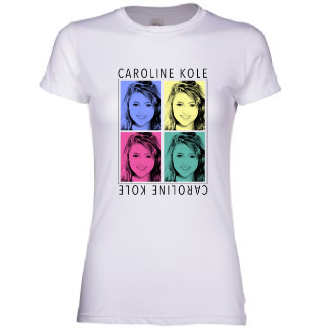 Caroline Kole Ladies White Tee