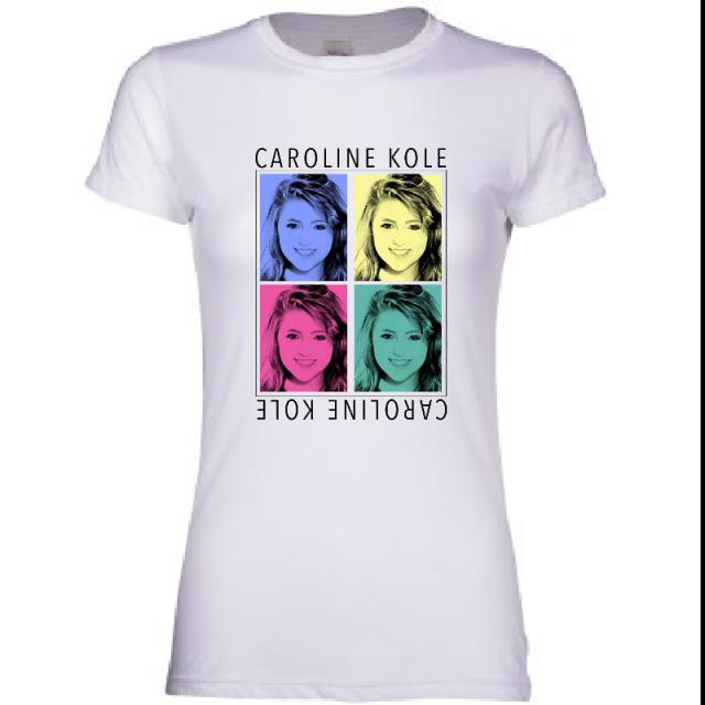 Caroline Kole Ladies White Tee